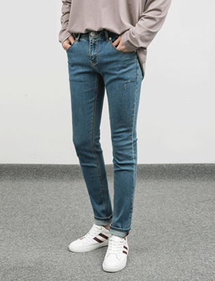 1+1 9 Color Tension Jeans[BC2256]