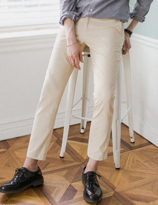 6color cotton chino pants[BC2949]