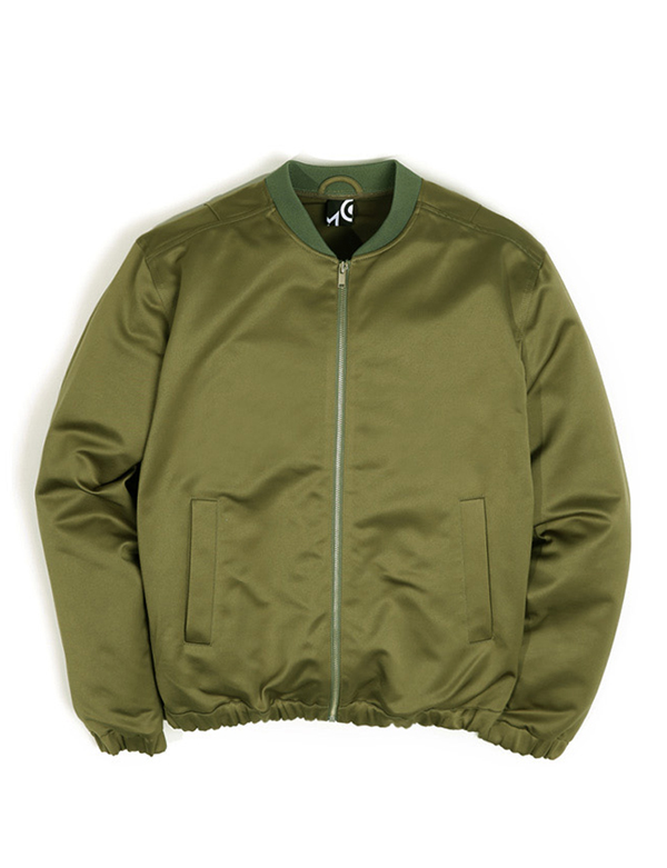 SMOOTH BLOUSON_KHAKI