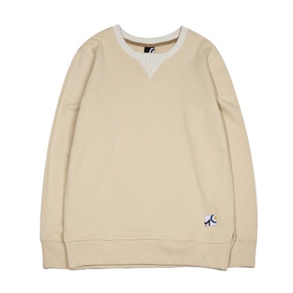 CUTTING SWEATSHIRT_DARK IVORY