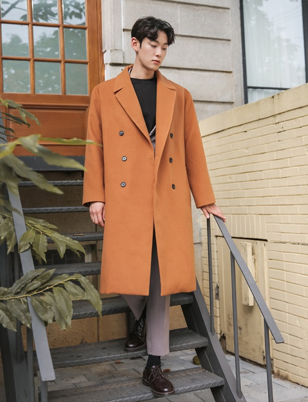DOUBLEBUTTON BIG COAT[CS2608][Ⅵ]