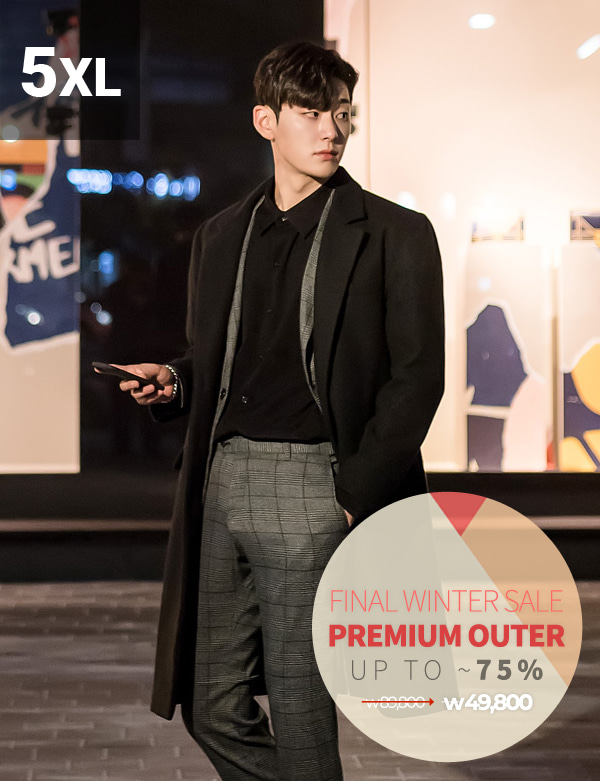 Personal Three Button Single Coat[BT1210][Ⅶ]