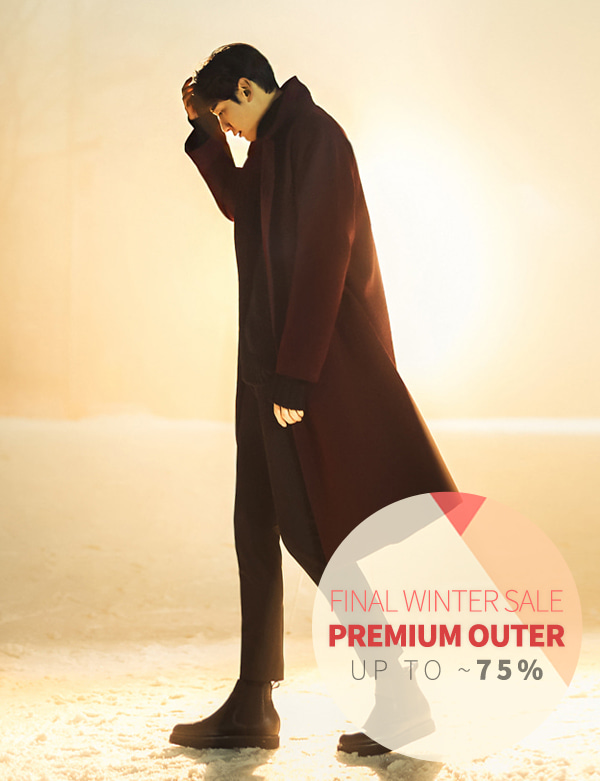 DOUBLEBUTTON BIG COAT[CS2608][Ⅲ]
