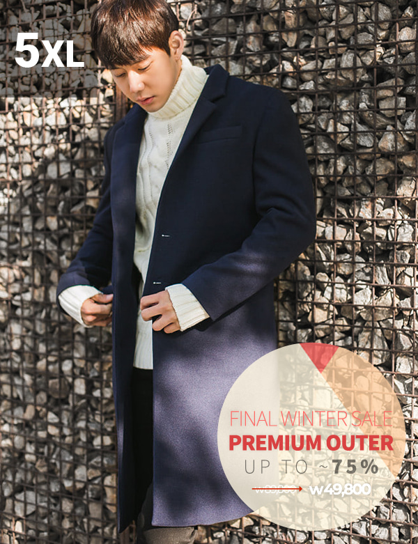 Personal Three Button Single Coat[BT1210][Ⅷ]