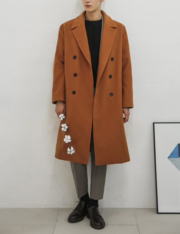 DOUBLEBUTTON BIG COAT[CS2608][Ⅴ]