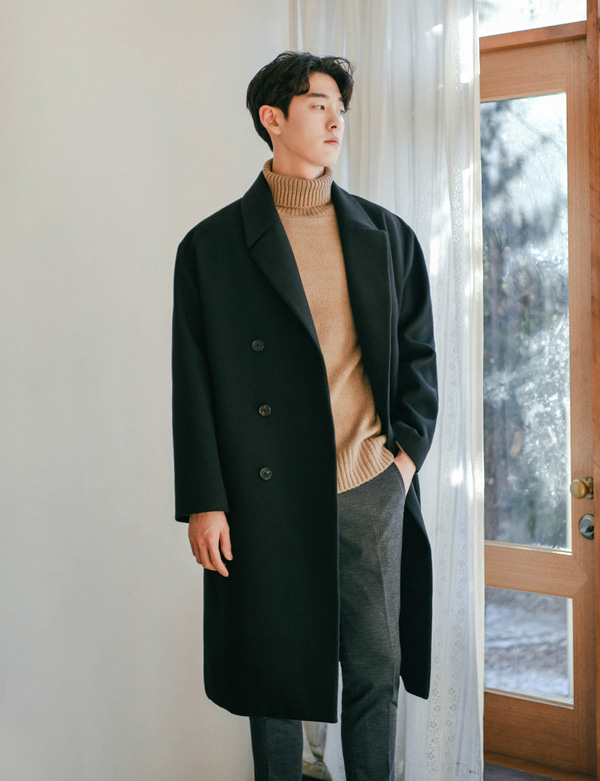 DOUBLEBUTTON BIG COAT[CS2608][Ⅶ]