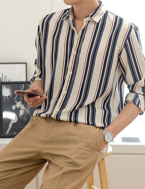 Ray Stripe Shirt[BP0779]