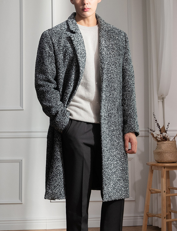 Personal Tweed Single Coat[BT1208]