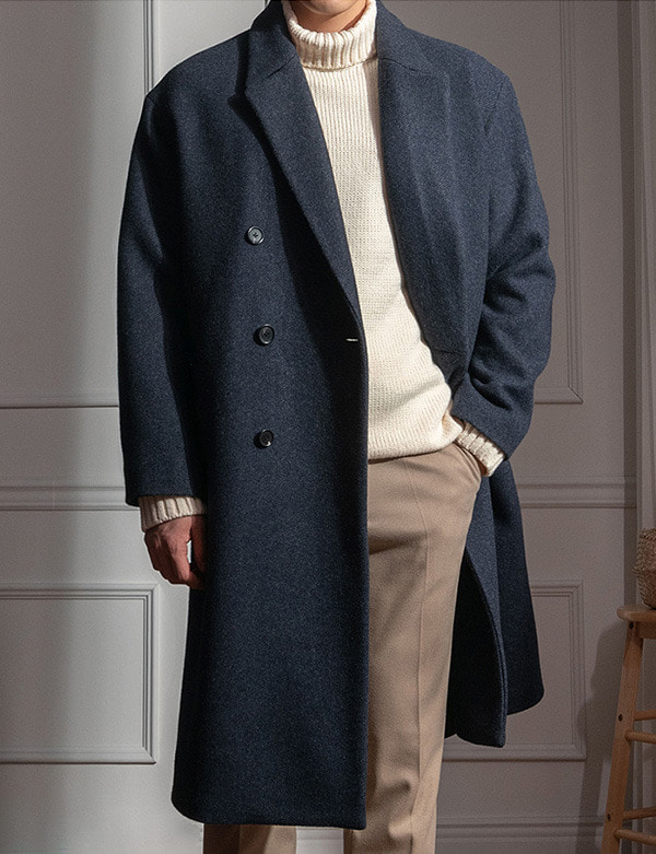 Premium Wool Double Big Coat[CY20228]