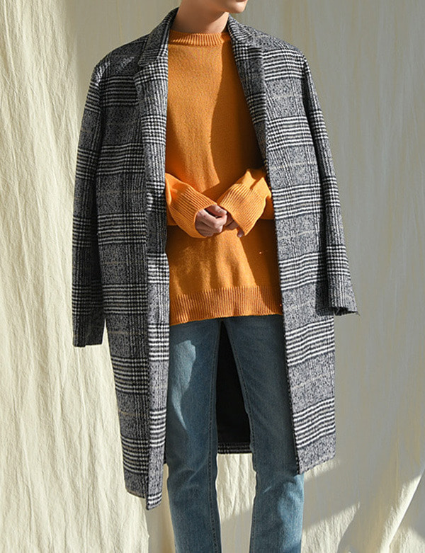 Check overfit coat[CS2083]