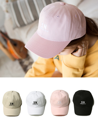 [BC0943]5도N 볼캡( 4 color Free 사이즈 )