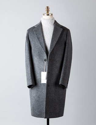 [BT2234]Cashmere Over Coat_charcoal( 1 color M/L 사이즈 )
