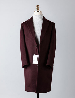 [BT2235]Cashmere Over Coat_wine( 1 color M/L 사이즈 )