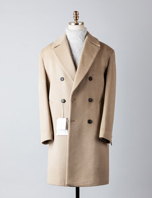 [BT2238]Cashmere Double Over Coat_begie( 1 color M/L 사이즈 )