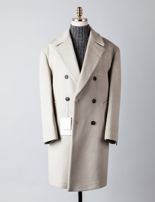 [BT2239]Cashmere Double Over Coat_lightbeige( 1 color M/L 사이즈 )