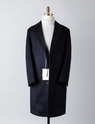 [BT2243]Cashmere Double Over Coat_navy( 1 color M/L 사이즈 )