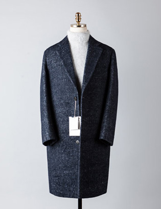 [BT2483]Plain Over Coat_navy( 1 color M/L 사이즈 )