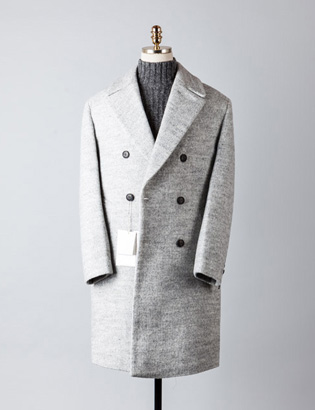[BT2486]Plain Double Over Coat_ivory( 1 color M/L 사이즈 )