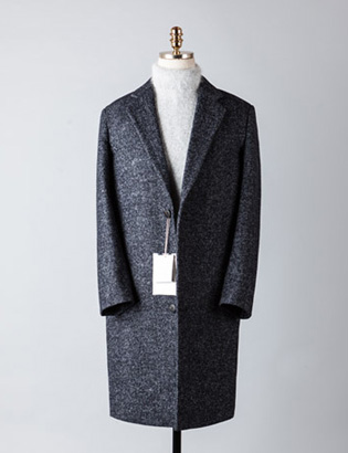 [BT2489]Herringbone Over Coat_navy( 1 color M/L 사이즈 )