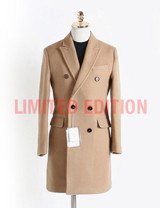 [BX2838]Cashmere Double Coat_begie( 1 color M/L/XL 사이즈 )
