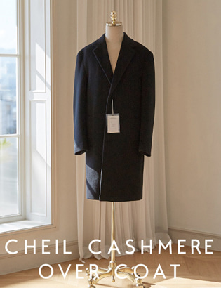 [CT3017]Veil Cashmere Over Coat_navy( 1 color M/L/XL 사이즈 )