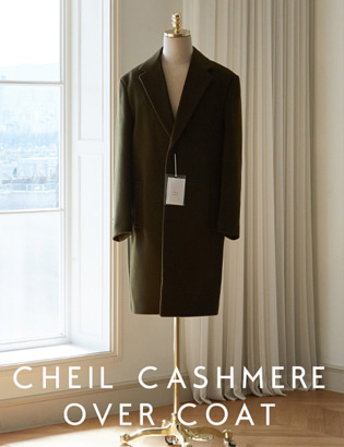 [CT3018]Veil Cashmere Over Coat_khaki( 1 color M/L/XL 사이즈 )
