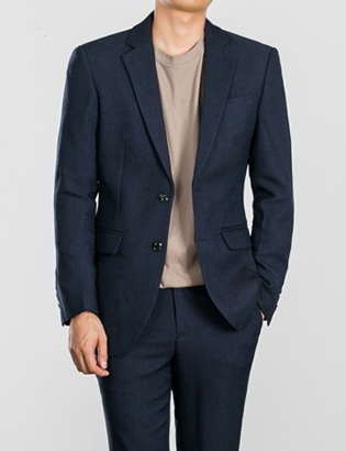 [BS0750]Two-tone Navy Jacket( 1 color S~XL size )