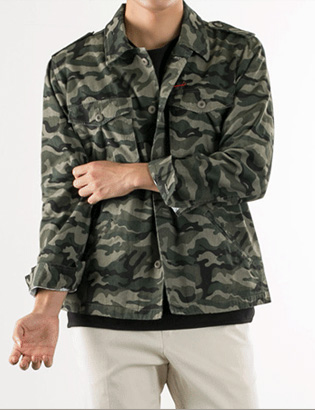 [BS2773]Camo Military Jacket( 1 color M/L size )