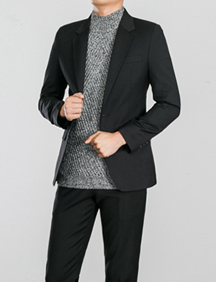 [BS0761]Morris Jacket - Black( 1 color M~XXL size )