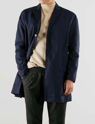 [BS2723]Tailor Overfit Coat( 4 color M/L size )