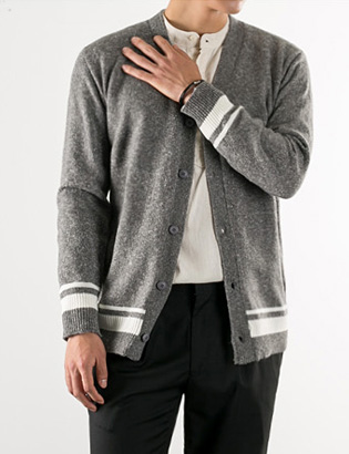 [BS2772]Make Bokashi Cardigan( 3 color Free size )