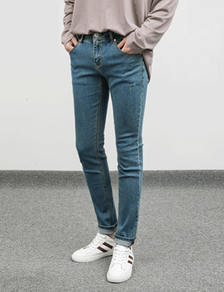 [BC2256]1+1 9 Color Tension Jeans( 9 color S~XXL size )
