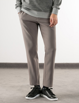 [BS2781]Banding Crop Slacks( 3 color M/L size )