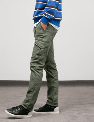 [BT2086]Washing Cargo Pants( 1 color M/L/XL size )