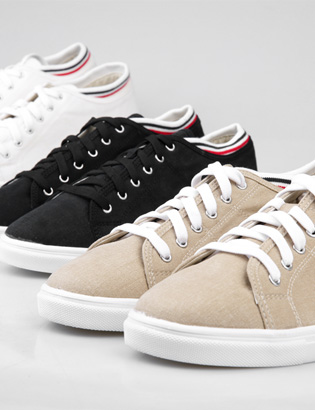 [BS0742]Louis Low Sneakers( 3 color 250~280 size )