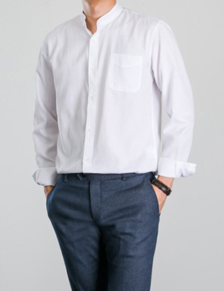 [BP0184] Oxford China Shirts( 4 color S~XL size )