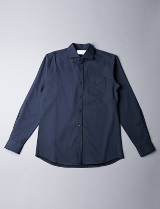 [BS2701]Simple Lug Shirts( 2 color M/L size )