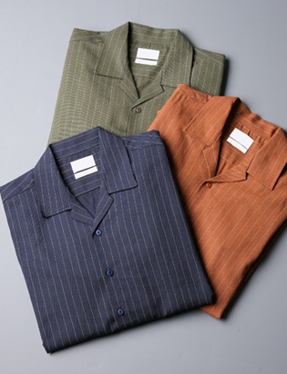 [BS2780]Sharp Open Shirts( 3 color M/L size )