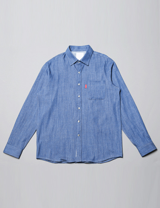 [BS0735]Pocket Denim Shirts( 3 color M/L size )