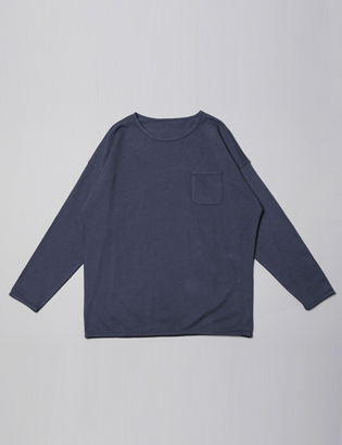 [BS0770]Slug Pocket Tee( 3 color Free size )