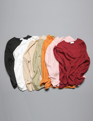 [BS0732]Roll Pocket Knit( 7 color Free size )
