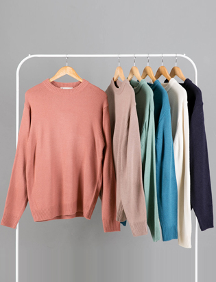 [BS2782]Basic Color Knit( 6 color Free size )