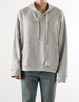 [BS2793]Daily Box Hoody( 4 color Free size )