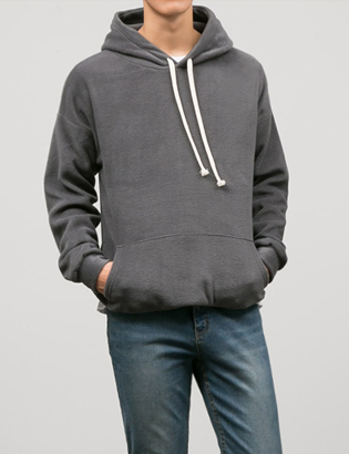 [BT2003]Cozy Fleece Hoodie( 6 color Free size )